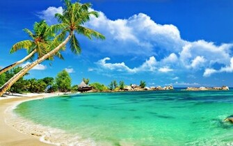 awesome tropical beach top wide wallpapers for desktop