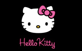 Hello Kitty Black Backgrounds hd wallpaper background desktop