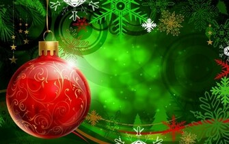 Christmas Wallpapers and PowerPoint Backgrounds Pictures  Green
