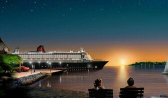 cruise ship wallpaper 350x197 cruise ship wallpapers hd wallpaper