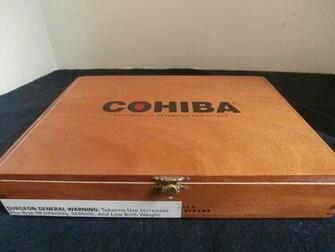 Cigar box cohiba  1