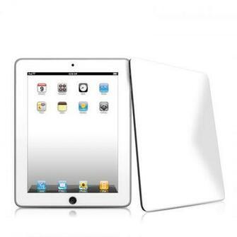 iPad iPad 2010 1st Gen Solid State White Apple iPad 1st Gen Skin