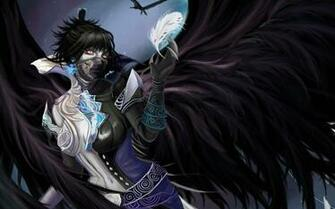 Category Anime Wallpapers Dark Demon Gothic Mask  4046x2241 px