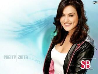 Wallpaper Preity Zinta Indian Celebrities