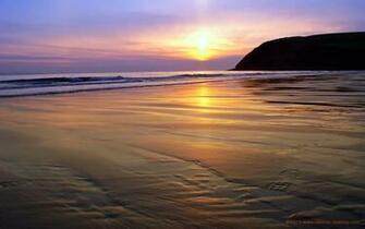 Pin Caribbean Beach Sunset Desktop Wallpaper
