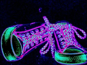 neon converse colorful brightjpg phone wallpaper by