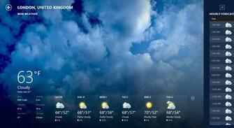 Download Weather HD 7 day local forecast Live desktop wallpaper