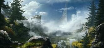 Halo Reach Forgeworld Background For Desktop by BansheeTK on