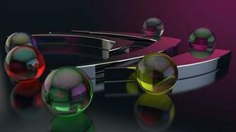 Wallpaper Balls Form Glass Surface Gloss Hd Wallpaper 1080p Upload