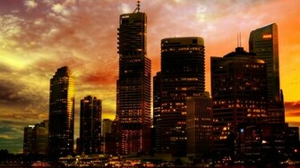 City Backgrounds wallpaper Sunset City Backgrounds hd wallpaper