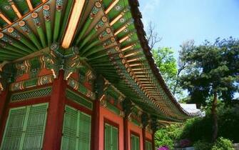 Chinese traditional house wallpaper 2517