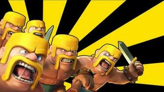 Clash of clans   BaRBariAN Troop tips and tricks Gameplay