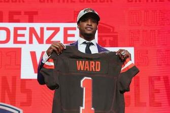 Browns testing Denzel Ward early LeVeon Bell sends questionable