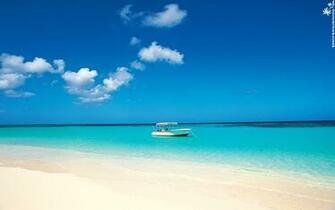 Caribbean Cruise Boat at Beach wallpaper   ForWallpapercom