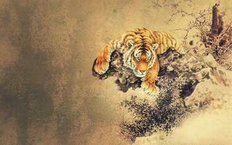 Asian Artwork Tiger Oriental sleeve tattoo inspiration Pinterest