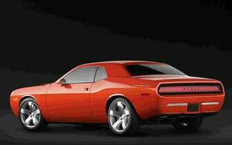 Dodge Challenger Concept widescreen 0030138 wallpaper   Dodge   Auto
