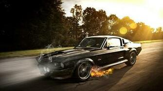 Cars ford mustang muscle car wallpaper 59043