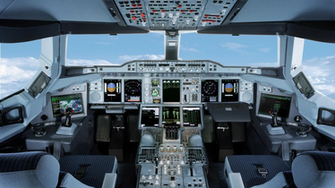 Airbus A380 Cockpit Wallpaper Images Pictures   Becuo