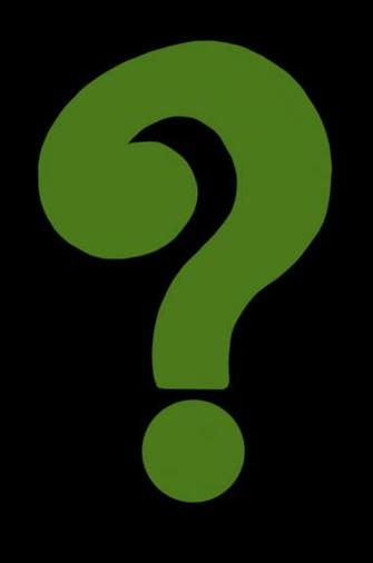Talk The Green Question Mark