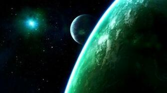sci fi planets wallpaper background