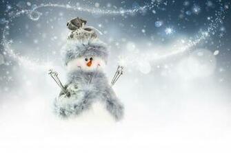 snowman christmas new year   Magic4Wallscom