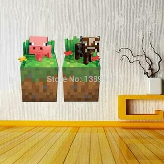 Minecraft Bedroom Wallpaper Gift Minecraft Wallpaper