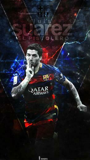 Luis Suarez FC Barcelona 2016 Wallpaper by RHGFX2