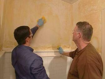 How to Remove a Linen Cloth Wall Covering from Plaster Walls How To