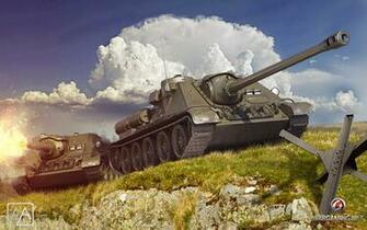 Images World of Tanks SPG USSR SU 85 2 3D Graphics Games