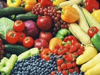 Vegetable And Fruits Wallpaper Fruit And Vegetables Wallpaper