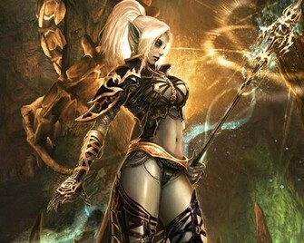 Dark Elf Witch wallpaper   ForWallpapercom