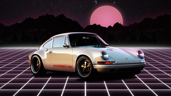 Porsche 911 Wallpaper outrun