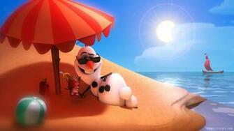 Disney Frozen Olaf Wallpaper