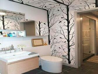 Gallery of Tips to Choose Bathroom Wallpaper Ideas