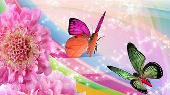 Butterflies And Flowers Wallpaper   52DazheW Gallery