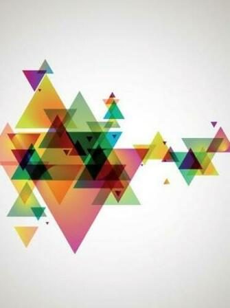 Abstract Geometry Wall Mural   Modern   Wallpaper   other metro   by