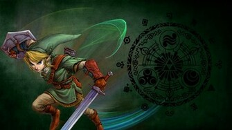 twilight princess wallpaper borkky art