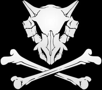Cubone Skull by KileyDavis