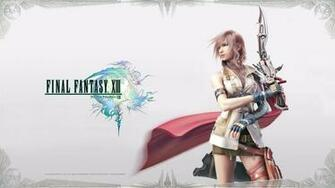 FFXIII   Lightning Posing Wallpapers