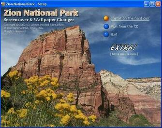 Back to Zion National Park Screensaver and Wallpaper Changer Details