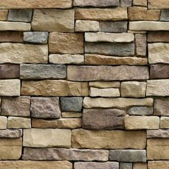 Stone Peel and Stick Wallpaper   Self Adhesive Wallpaper   Easily