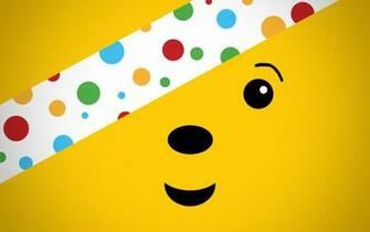 Pudsey the Bear Wallpaper by LindsayCookie