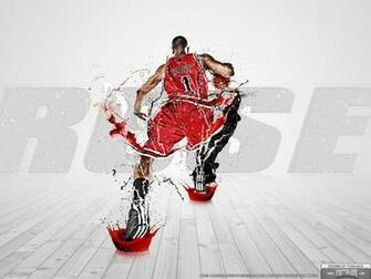 Wallpaper Derrick Rose   Superstar Series SLAMonline