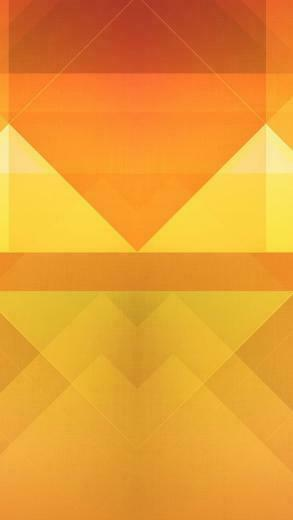 Abstract Orange Triangles Wallpaper   iPhone Wallpapers