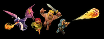 Clash of Clans characters2png