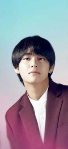 bts Taehyung v handsome LG wallpaper bighit