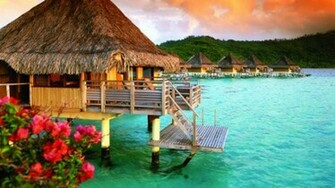 Bora Bora Hd Wallpaper HD Wallpaper