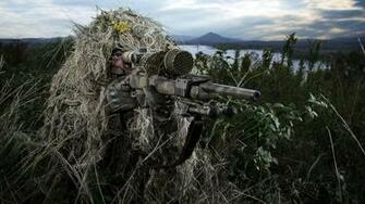 Sniper Wallpaper soldier weapon Wallpapers