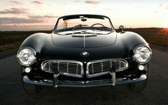 BMW Classic Car Widescreen HD Wallpaper