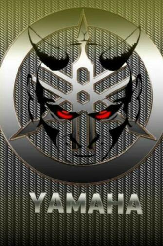 Download logos wallpaper Yamaha with size 640x960 pixels for